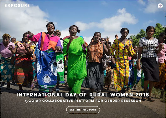 International Day of Rural Women 2018