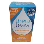 Thera Tears Eye Nutrition Omega-3 Supplement With Vitamin E, Capsules - 90 Ea