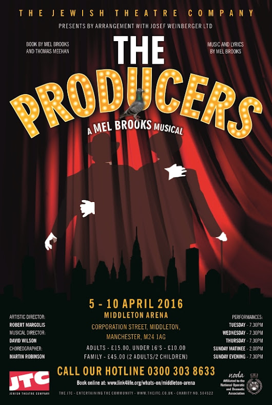 The Producers :: The Jewish Theatre Company