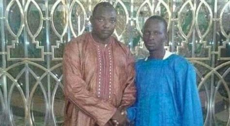 """Résultat de recherche d'images pour """"Adama Barrow touba"""""""