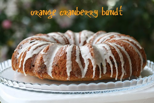 Orange Cranberry Bundt - I Like Big Bundts