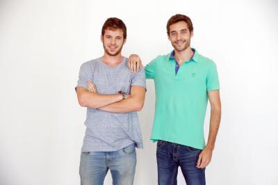 Gonzalo Ortega CTO y Carlos Montesinos CEO de Airhopping.