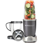 The Magic Bullet 3-Cup Nutribullet 8-Piece Blender Set - Gray
