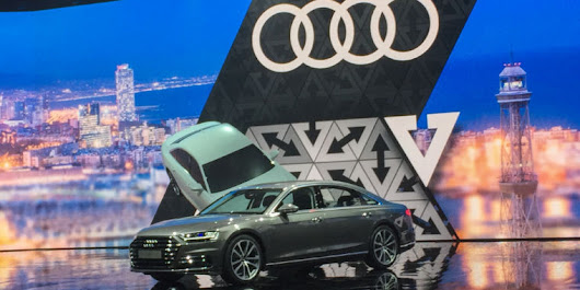 Meet Audi's new tech flagship: The 2018 A8 sedan