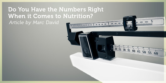 Do You Have the Numbers Right When it Comes to Nutrition?