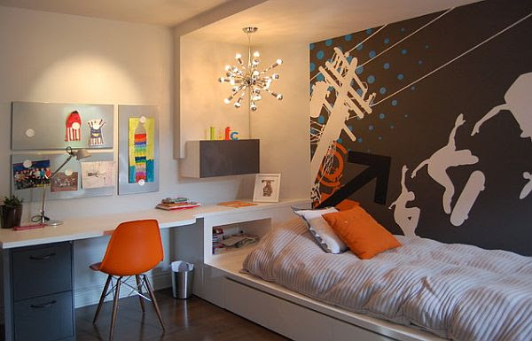 Inspiring Teenage Boys Bedrooms for Your Cool Kid