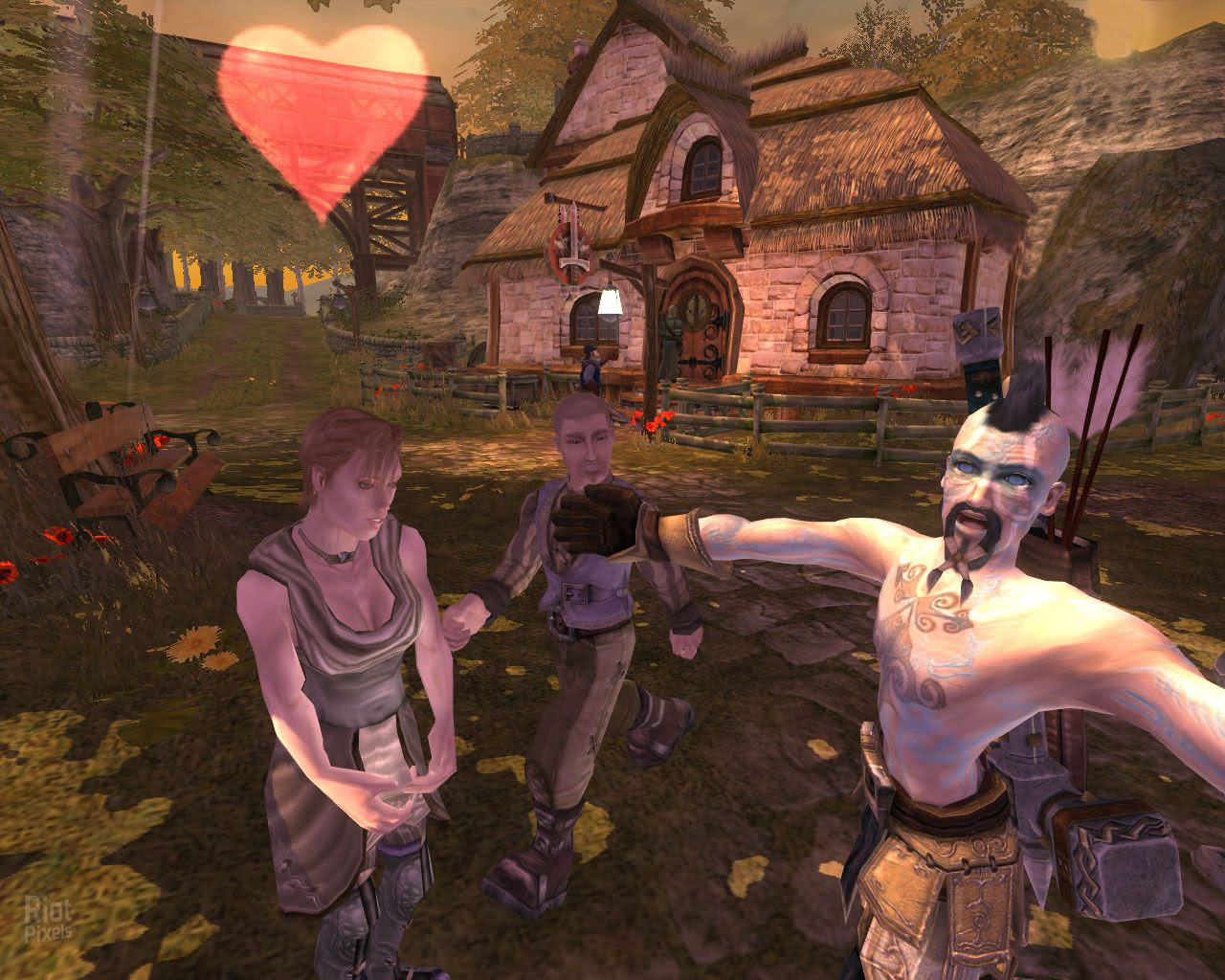 Fable The Lost Chapters Game Screenshots At Riot Pixels Images