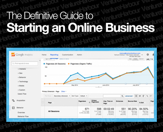 The Definitive Guide to Starting an Online Business