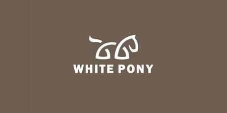 White Pony Logo