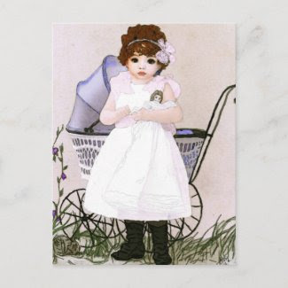My Dolly and Me postcard