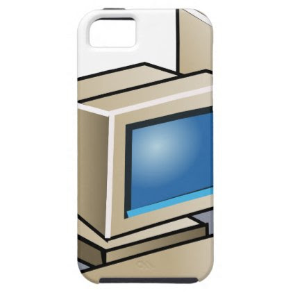 Retro Computer iPhone SE/5/5s Case