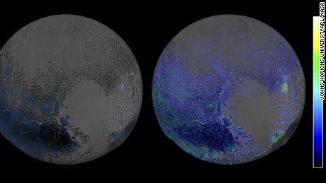 Pluto is covered with a lot of water ice - CNN.com