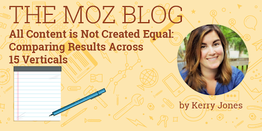 All Content is Not Created Equal: Comparing Results Across 15 Verticals