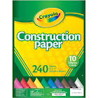 """Crayola Construction Paper Pack, 9"""" x 12"""" - 240 sheets"""
