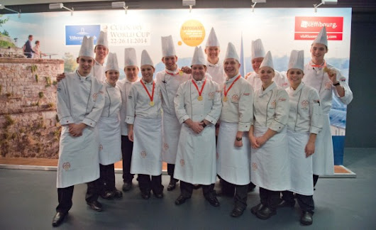 The British Columbia Chefs' Association - Canada Culinary Teams Earn Gold