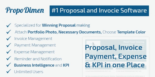 PropoDimen - Proposal Invoicing PHP Script - PHP Scripts & PHP Code | Codester