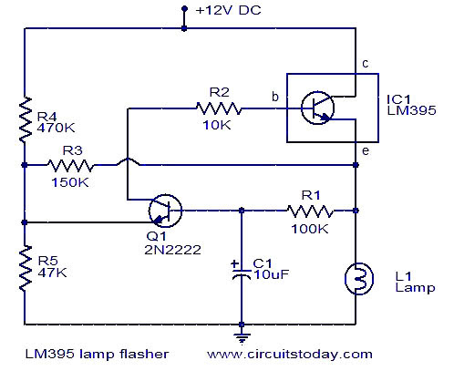 lamp-flasher-using-lm395