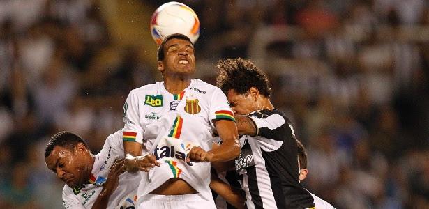 Sampaio Corrêa e Botafogo fizeram uma partida disputada pela Série B