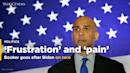 Booker: Biden is 'causing a lot of frustration and even pain with his words'