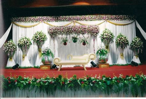 Bangalore Stage Decoration ? Design #350 wedding flower
