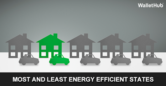2015's Most and Least Energy Efficient States