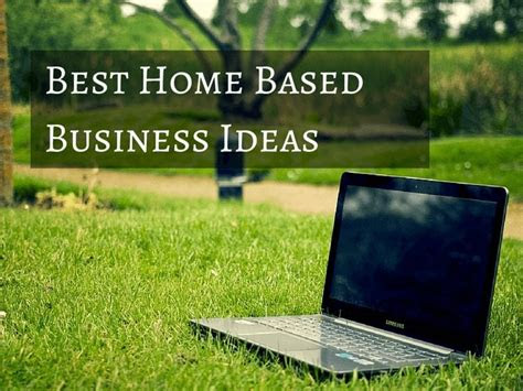 home based business ideas work home life