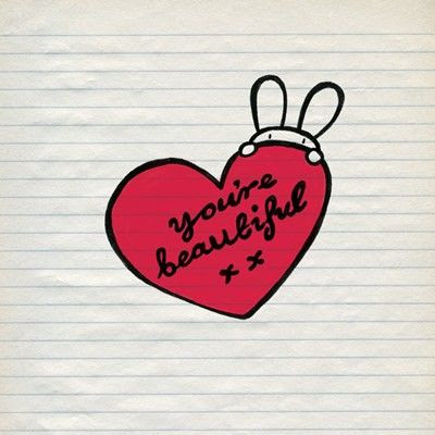 Youre Beautiful Heart Greetings Card Karenza Paperie