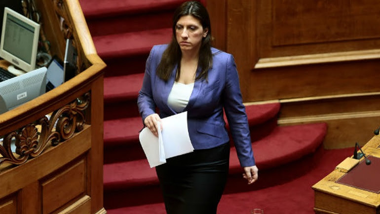 H Κωνσταντοπούλου στέλνει τις ευχές της στην κυβέρνηση...