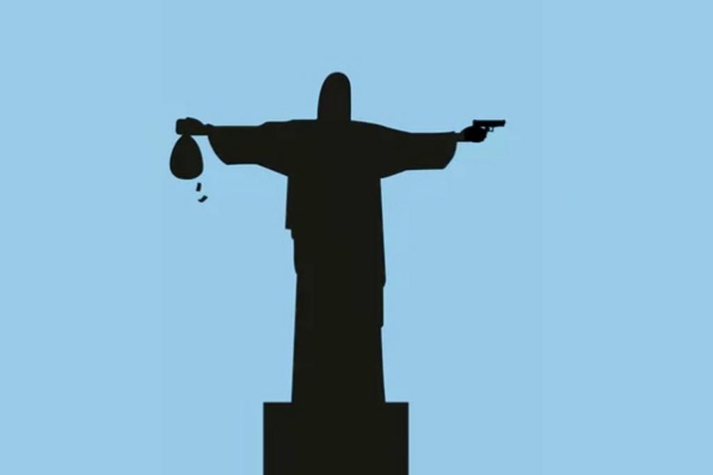 Jornal britânico publica ilustração do Cristo Redentor armado e irritaArquidiocese do Rio
