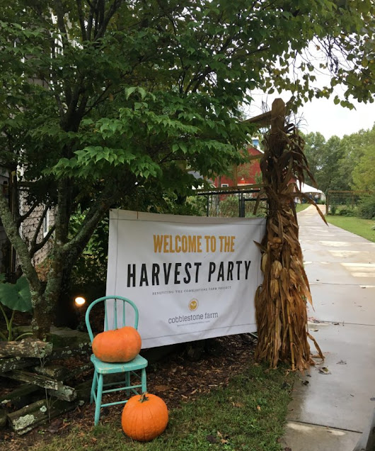Cobblestone Harvest Party – Taking the Farm to the Barn {Giveaway} | Dining With Debbie