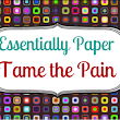 Tame the Pain Essential Oil Blend now available in our Etsy store @EssentiallyPaper - Essentially Paper