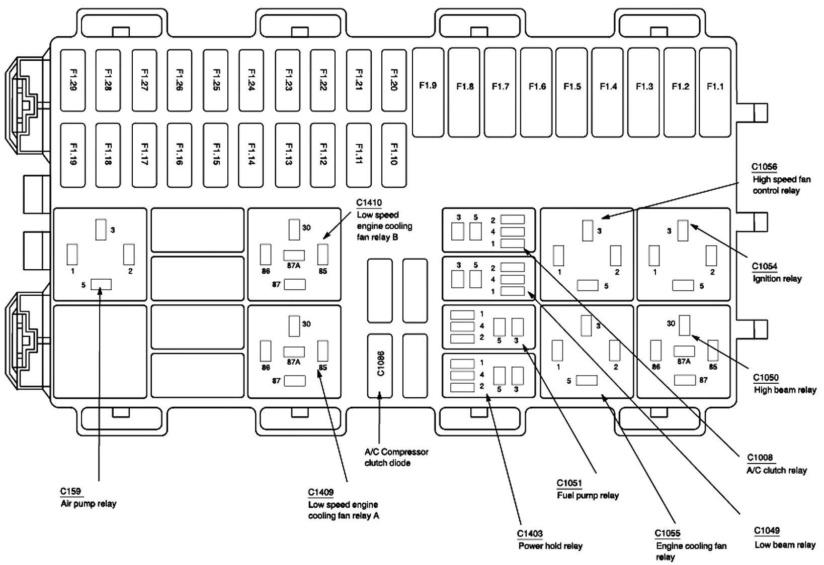 2001 Focu Wiring Diagram