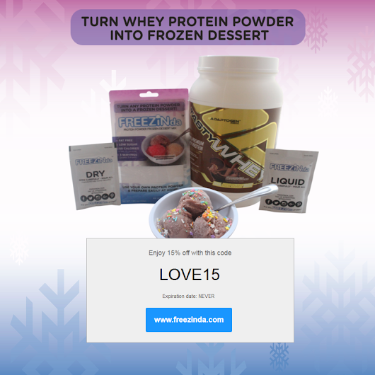 Highest Whey Protein Powder Frozen, Ice Cream Like Dessert Ever! – FREEZINda™