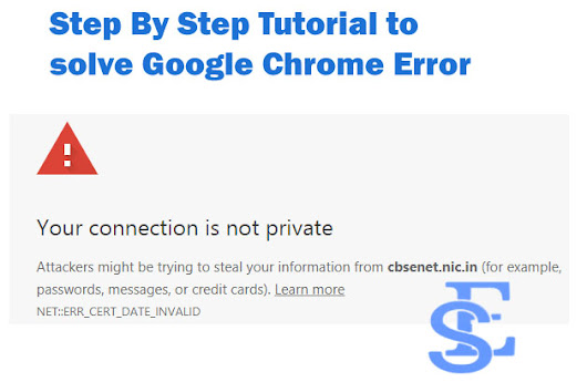 Fix Your Connection Is Not Private Google Chrome Error - 6 Easy Way