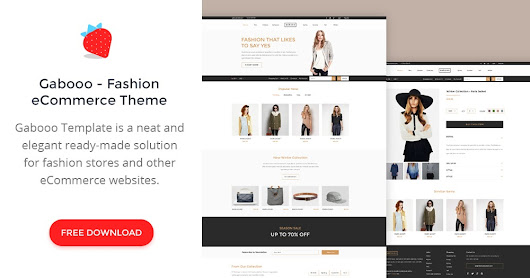 Gabooo - Fashion eCommerce Theme