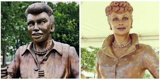 Lucille Ball's Hometown Has Finally Replaced the 'Scary Lucy' Statue