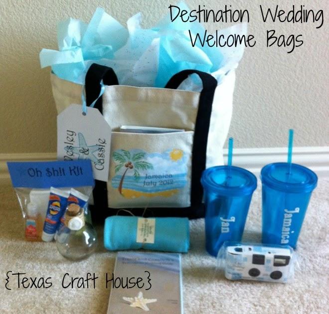 Destination Wedding Gift Bag Ideas
