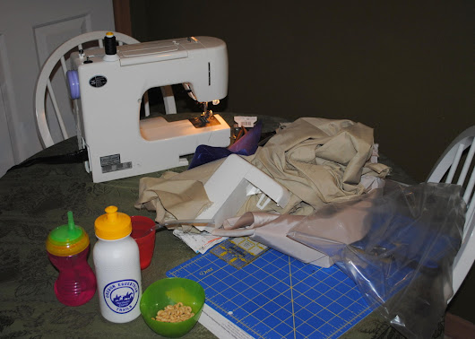Making Stuff Sacks, a.k.a. Making Your Own Gear (MYOG), or DIY, or Dad Learns to Sew