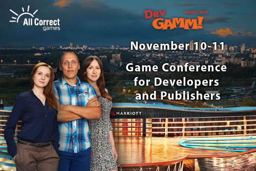 Attending the Minsk DevGAMM conference - Game localization | All Correct Games