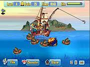 Jogar Defend fish  boat Jogos