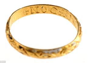17th Century gold engagement ring found by pensioner with