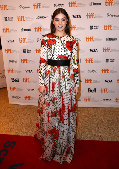 Hailee Steinfeld - 'The Keeping Room' Premiere - 2014 Toronto International Film Festival
