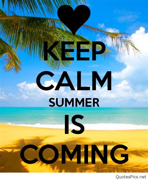 summer  coming quotes wallpapers