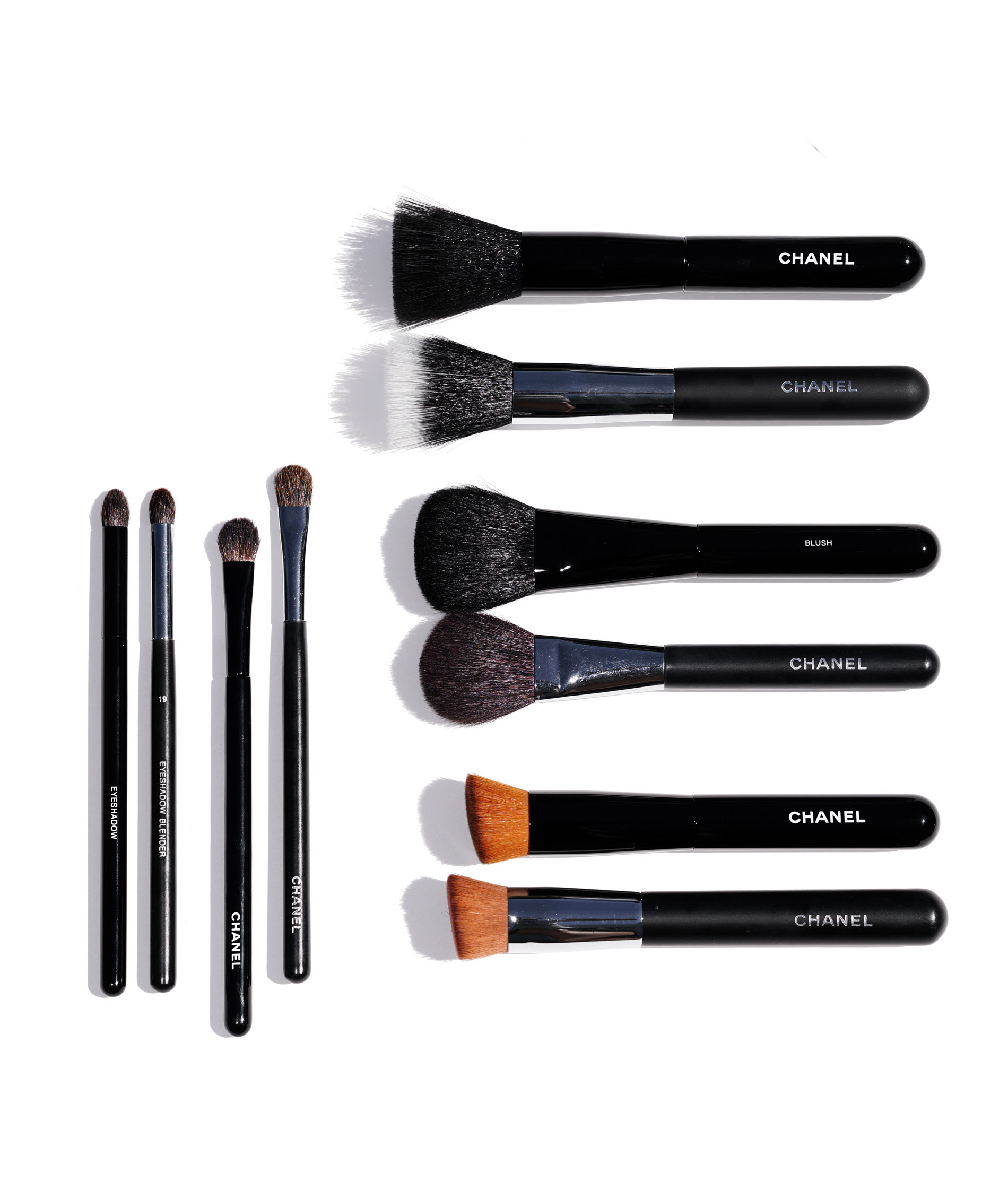 Chanel Makeup Brushes - New Design | The Beauty Look Book