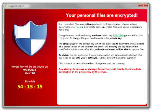 Ransomware - Dont panic about it, just deal with it!