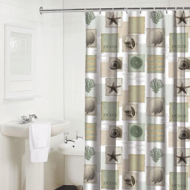 Shower Curtains Seaside