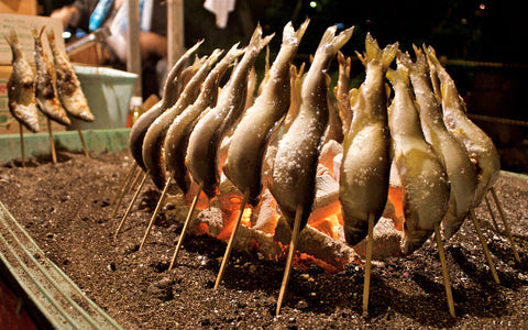 The many ways to eat fish in Japan
