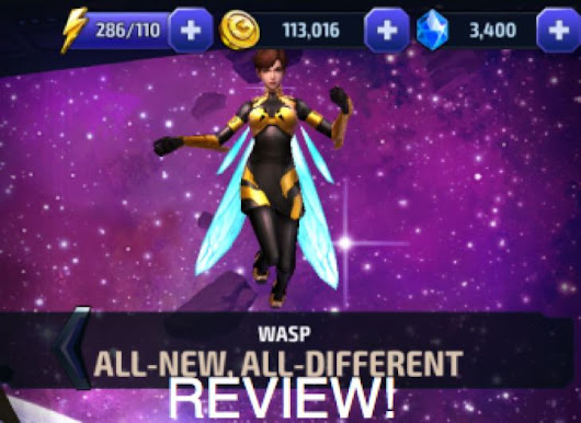 Marvel Future Fight ANAD Wasp uniform review | Product Reviews Net
