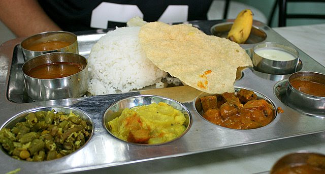 Southern Indian rice set