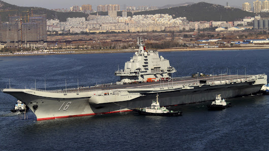 China's First Aircraft Carrier Is Finally Shipshape